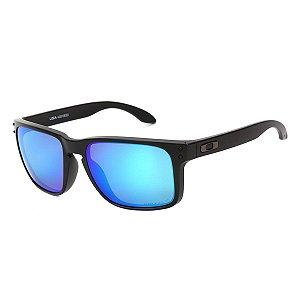 Óculos Oakley Holbrook Xl Warm Masculino - Preto e Azul