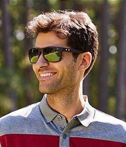 DUPLICADO - Óculos Oakley Holbrook Xl Warm Masculino - Preto e Azul