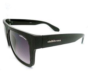"""Oculos de sol chilli beans """"block"""" preto Super Luxo"""