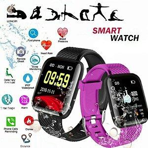 Relógio Inteligente/Smartwatch Esportivo À Prova D 'Água D13 / Batimentos Cardíacos / Arterial Sanguínea