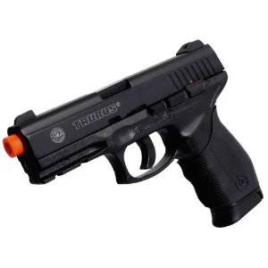 Pistola de Airsoft Gas CO2 PT 24/7 slide Metal Cal 6.0mm cybergun