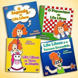 Série Lila Liloca Completa - 4 Livros