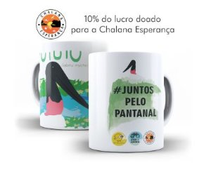 Caneca do Tuiuiú (Jabiru mycteria)
