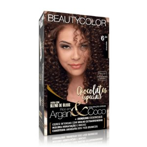 COLORAÇÃO PERMANENTE BEAUTYCOLOR CHOCOLATE 6.34
