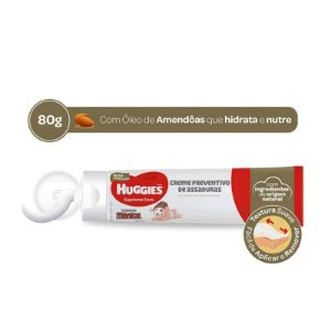 CREME ANTI-ASSADURAS HUGGIES ÓLEO DE AMÊNDOAS 80g