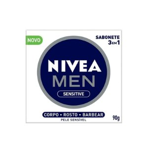 SABONETE EM BARRA NIVEA MEN SENSITIVE 3 EM 1 90g - 0975