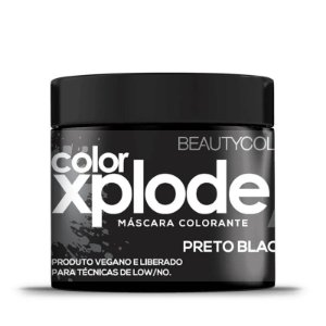 MÁSCARA COLORANTE COLOR XPLODE PRETO BLACKOUT 300g - 4835