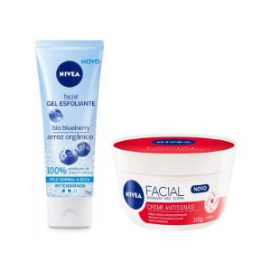 KIT NIVEA ESFOLIANTE + HIDRATANTE ANTISSINAIS 0414