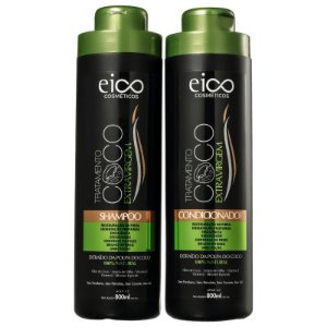 KIT EICO SHAMPOO + CONDICIONADOR COCO  800ml - 6725