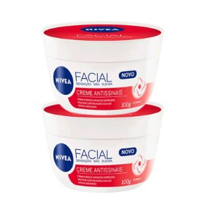 KIT 2 CREMES NIVEA ANTISSINAIS 100g