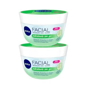 KIT 2 CREMES NIVEA FRESH EM GEL 100g