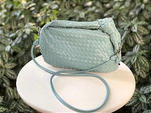 Bolsa Azul Claro Tressê