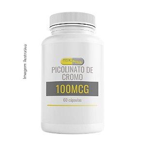 Picolinato de Cromo 100mcg - 60 cápsulas