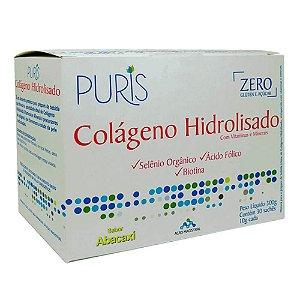 Colágeno + Vitamina e Minerais  Sabor Abacaxi - 30 SACHES