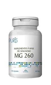 Magnésio 260mg  Puris - 120 Cápsulas