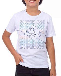 SUPER PAI MÃO-MASCULINO INFANTIL