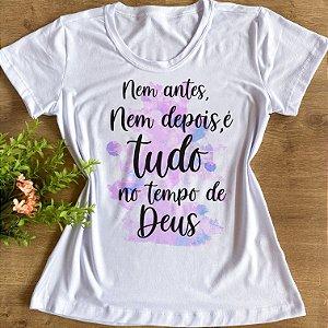 TUDO NO TEMPO DE DEUS