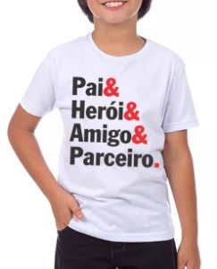 PAI E HERÓI-MASCULINO INFANTIL