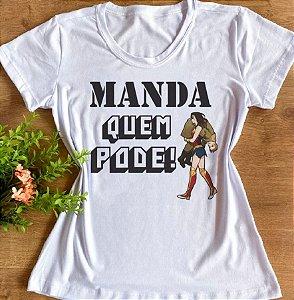 MANDA QUEM PODE