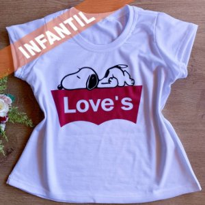 LOVE'S SNOOP - INFANTIL FEMININA