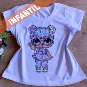 T-SHIRT INFANTIL MENINA FASHION