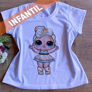 T-SHIRT INFANTIL MENINA GLITTER