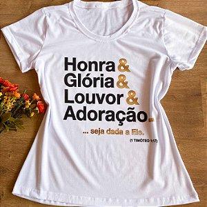 HONRA E GLÓRIA