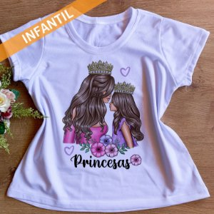 PRINCESAS FLORES- INFANTIL FEMININA