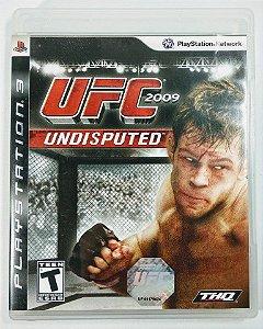 Jogo UFC 2009 Undisputed - PS3