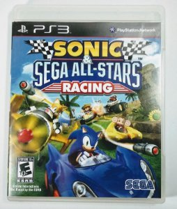 Jogo Sonic & Sega All-Stars Racing - PS3