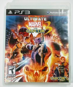Jogo Ultimate Marvel vs Capcom 3 - PS3