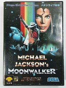 Jogo Michael Jackson Moonwalker [JAPONÊS] - Mega Drive