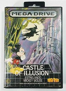 Jogo Castle of Illusion Mickey Mouse Original - Mega Drive