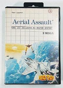 Jogo Aerial Assault - Master System
