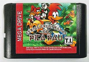 Jogo Férias Frustadas do Pica Pau - Mega Drive