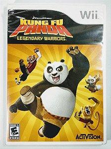 Jogo Kung Fu Panda Legendary Warriors - Wii