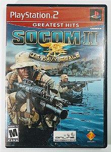 Jogo Socom II U.S Navy Seals Original - PS2