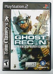 Jogo Ghost Recon Advanced Warfighter Original - PS2