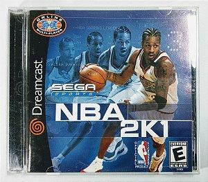 Jogo NBA 2K1 Original - Dreamcast