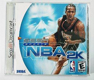 Jogo NBA 2K Original - Dreamcast