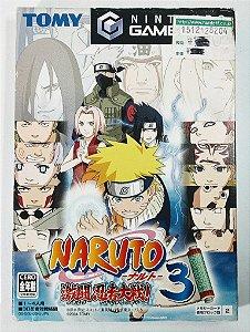 Jogo Naruto Gekitou Ninja Taisen! 3 [Japonês] - GC