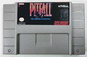 Jogo Pitfall the Mayan Adventure - SNES