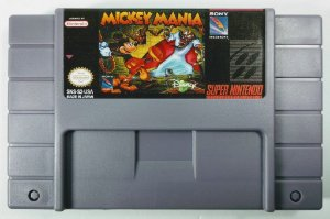 Jogo Mickey Mania - SNES