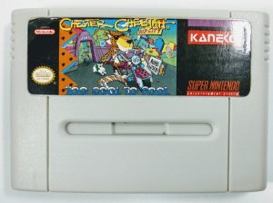 Jogo Chester Cheetah Too Cool to Fool - SNES