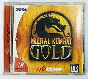 Jogo Mortal Kombat Gold Original - Dreamcast