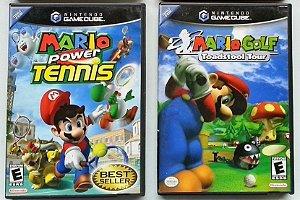 Mario Golf e Tennis Original (cada) - GC/ Wii