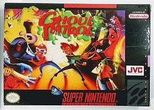 Jogo Ghoul Patrol - SNES