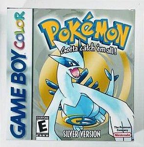 Jogo Pokemon Silver - GBC
