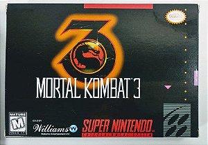 Jogo Mortal Kombat 3 - SNES