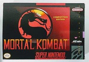 Jogo Mortal Kombat - SNES